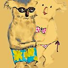 Koala Beach Dude and Koala Beach Babe by Trish Loader