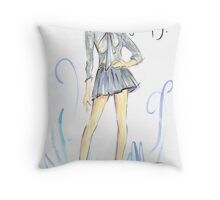 Bowing Out Gracefully! Throw Pillow