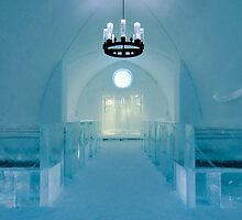 Ice church by Eivor Kuchta