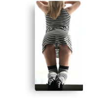 One of the stripes shoot Canvas Print