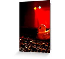 Duck on the decks Greeting Card
