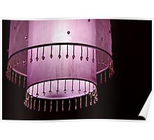 Pink light Poster