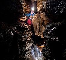 Swildons Hole by Stevesharpphoto