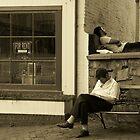 Green Street, Annapolis Summer by James Jurena