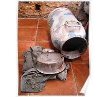 Carbide shooting art explosive! Poster