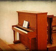 Cades Cove Church Piano by Shane Jones