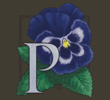P is for Pansy - small patch by Stephanie Smith
