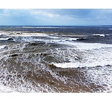 Wind and Sea Photographic Print
