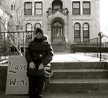 Love Wins.  by Rae Breaux