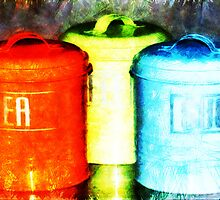 """""""Canisters of Life Blood"""" by Bruce Jones"""
