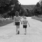 Lead Me Anywhere, Big Sister........And I Will Follow. by Isabel J Coote Photography