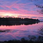 Sunrise over Oak Island, Nova Scotia by Chris Jessup
