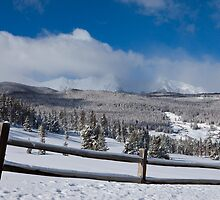 TenMile Range in Winter by Jeanne Frasse