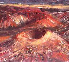 Haleakala Crater- Maui Hawaii  by Mary Sedici