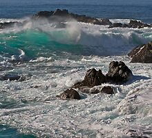 Big Waves at Garrapata State Beach, California by Bruce Alexander