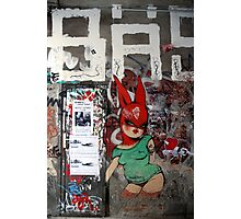 red bunny in Berlin Photographic Print
