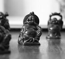 Mini buddha  by Nezodon