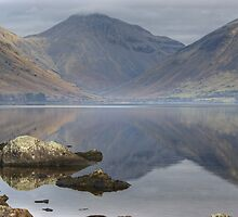 Great Gable At The Head Of Wasdale by Jamie  Green