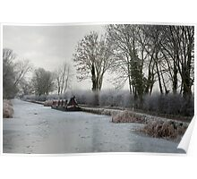 Frozen Canal Poster