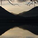 2 dark mountains - Derwent Water, Keswick by monkeyferret