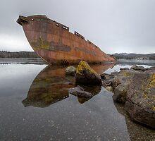 Sunken Whaler by Kevin  Kroeker