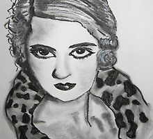 BETTE DAVIS by Artbykris