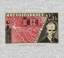 Tesla Stamp (Czechoslovakia) Kids Clothes