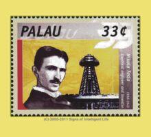 Tesla Stamp (Palau) Kids Clothes