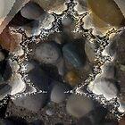 beach fractal by Leeanne Middleton