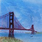 One of the  places of California viewing from the Sofa by David M Scott