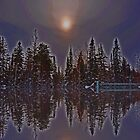 Reflecting by Chickapeek
