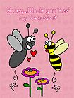 'Bee' my Valentine! by Maria  Gonzalez