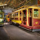 Tram Depot - Ballarat by Hans Kawitzki