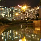 Hotel Indonesia - Kempinski (by night) by Property & Construction Photography