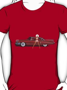 The Seventies are back - Red Cadillac T-Shirt