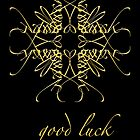 good luck by notecards