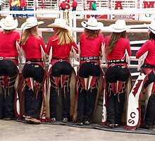 Calgary Stampede Princesses by Lee Gunderson