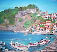 Parga, Greece by Teresa Dominici