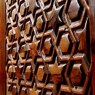 Wooden Door on a Coptic Church by Laurel Talabere