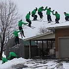 Ski Roof Montage by Dylan Hamm