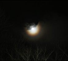 Moonray light - Night time Photography by Dominic Hallwood
