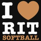 I Heart RIT Softball by dfur