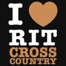 I Heart RIT Cross Country by dfur