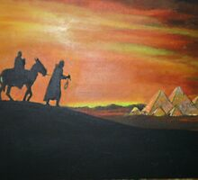 JESUS, TAKEN TO EGYPT by Rosetta Jallow