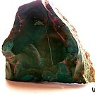 Polished Turquoise Stone by Winona Sharp