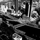 Yarra River and Melbourne City by Adam Spence