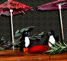 Penguin Romance - - Cards by Maria A. Barnowl