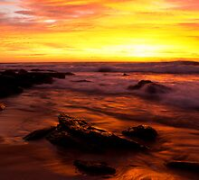 Turrimetta beach sunrise by Doug Cliff