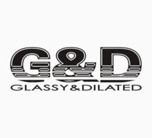 GLASSY & DILATED: VENTILATED LOGO by S DOT SLAUGHTER