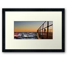 Sea of Love Framed Print